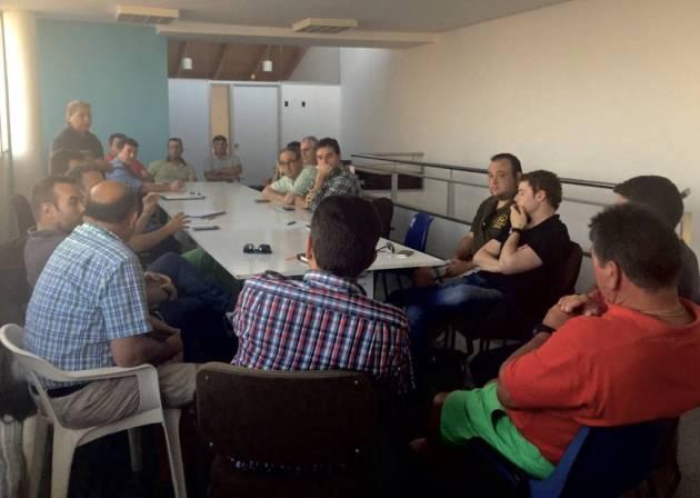 Reunión FCCV en El Palmar con presidentes y responsables de Clubes (2)