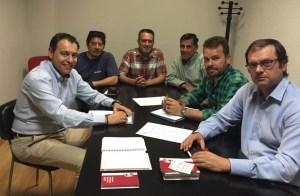 Reunión entre los representantes de Agility y la FCCV