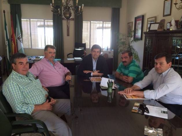 Reunión entre Ifeja y la Federación Andaluza de Caza