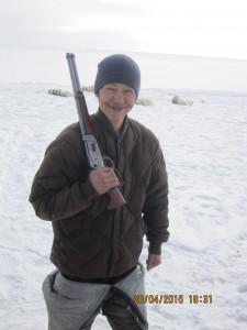 En los territorios  de nanook Resolute, Nunavut, Canadá