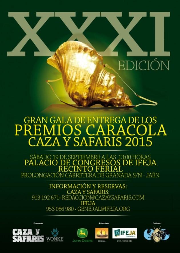 cartel caracola 2015 jaén