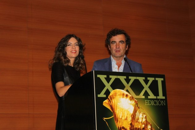 Olivia Aranda y Antonio Montero, presentadores de la XXXI Gala