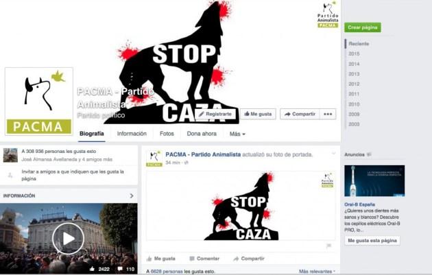 R- Facebook PACMA