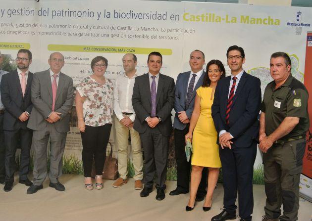 El consejero de Agricultura inaugura 'Fecircatur' en Ciudad Real.