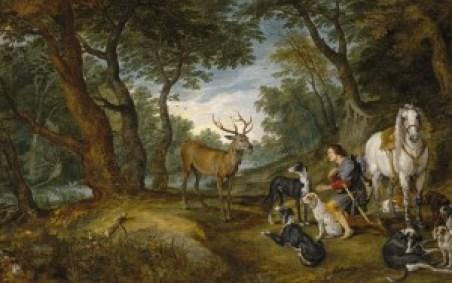 La visión de San Huberto - Museo del Prado