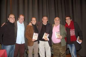 De izquierda a derecha, Amadeo Aranda, Antonio Beteta, Rafael Cabanillas, Antonio Mata, Javier Gil y Justo Sotelo.