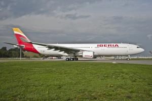 Iberia A330 Parking