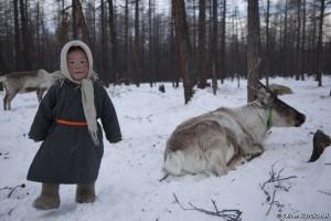 Los dukhas son cazadores, no furtivos, pero están siendo perseguidos por cazar en sus tierras ancestrales. © Selcen Kucukustel/Magma magazine.