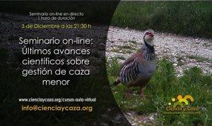 seminario online de ciencia y caza