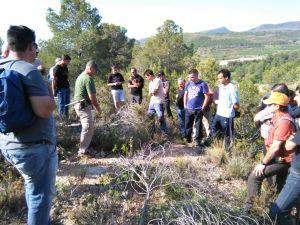 Practicas del curso de Control de Predadores en Segorbe de FCCV mayo 2015