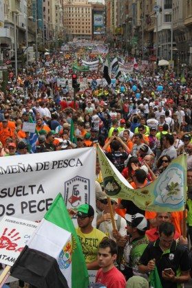 manifestacion caza pesca madrid 5 junio 2016