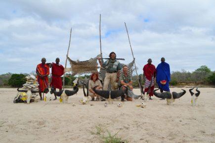 tanzania masais trofeos