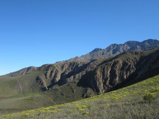 western cape áfrica montañas
