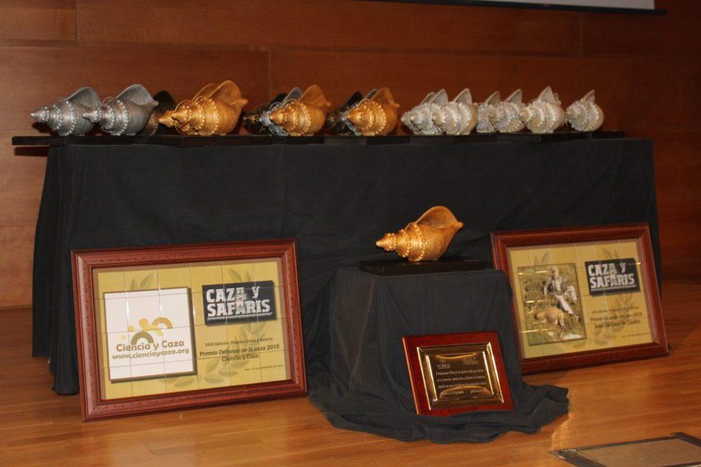 Caracolas y galardones que se entregarían a lo largo de esta trigésimo segunda edición de los Premios Caracola.