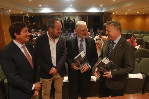 López-Crespo, Algar, Fernández de Mesa y Primo Jurado. - MIGUEL ÁNGEL SALAS.