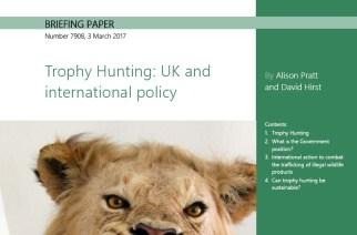 Reino Unido: FACE pide que no se den noticias falsas sobre la caza de trofeos