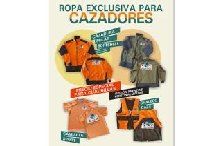 La MGC e Itecám lanzan una línea de ropa para cazadores