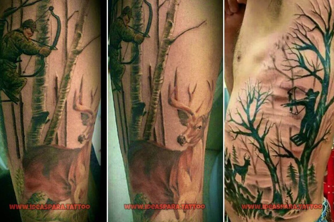 Los 85 Mejores Tatuajes Para Cazadores Cazawonke Caza Y Safaris