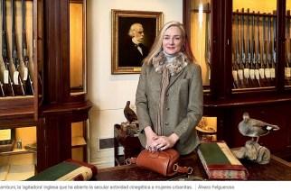Claire Zambuni, la mujer que ha expandido la caza entre féminas