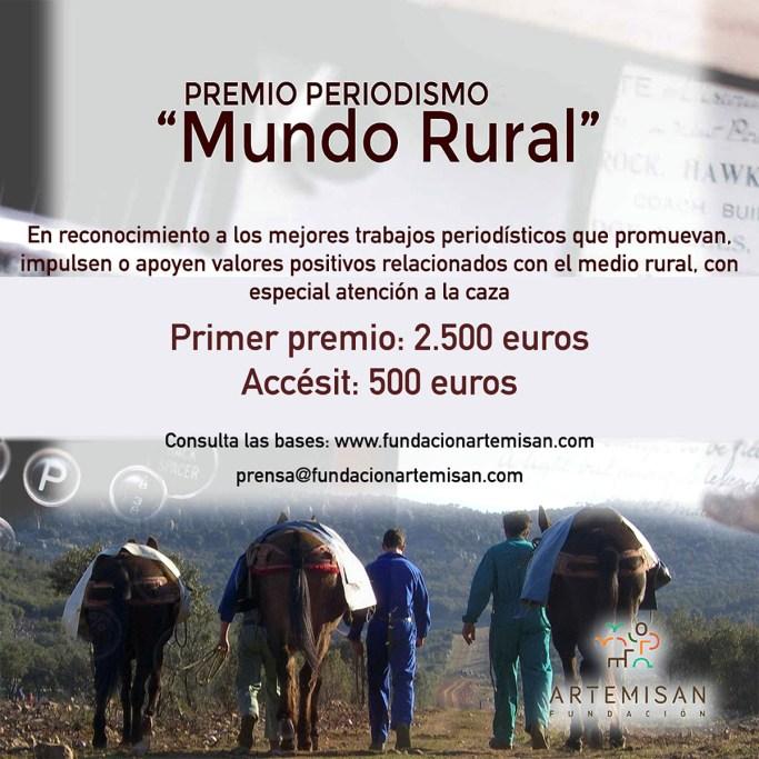 Artemisan 'Premio de Periodismo Mundo Rural'