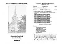 Bulletin for 12-6-20