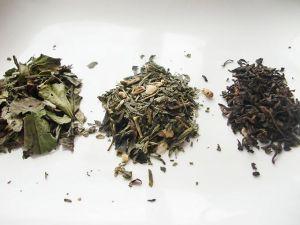 Hojas de té