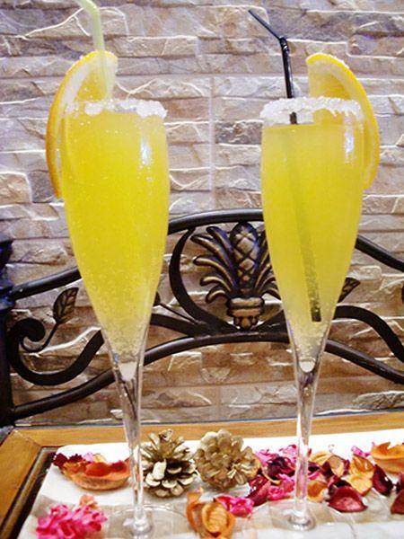 Coctel Mimosa con o sin alcohol