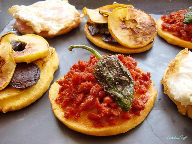 Tortos de maíz asturianos