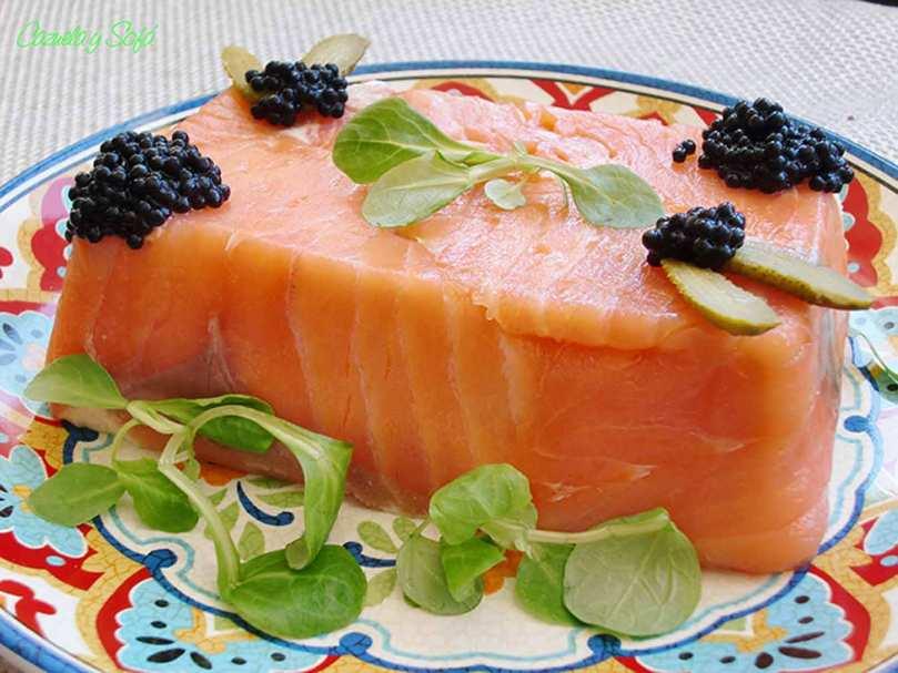 Pastel-frío-de-salmón-ahumado