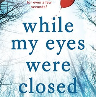 While My Eyes Were Closed - Linda Green - Book Cover
