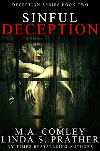 Sinful Deception - MA Comley and LInda S. Prather - Book Cover