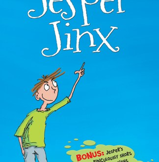 Jesper Jinx - Marko Kitti - Book Cover