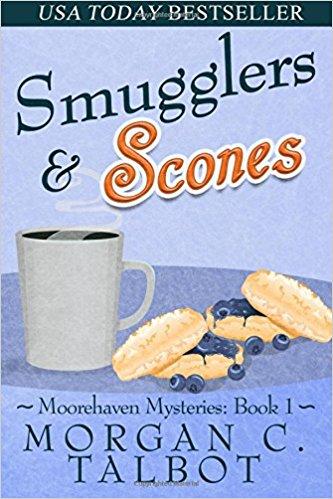 Smugglers & Scones - Morgan C. Talbot - Book Cover