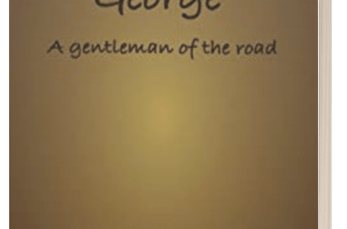 George: a Gentleman of the Road - P.A. Davies - 3D book cover