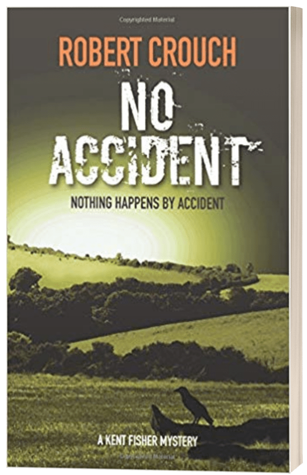 No Accident - Robert Crouch - 3D book cover
