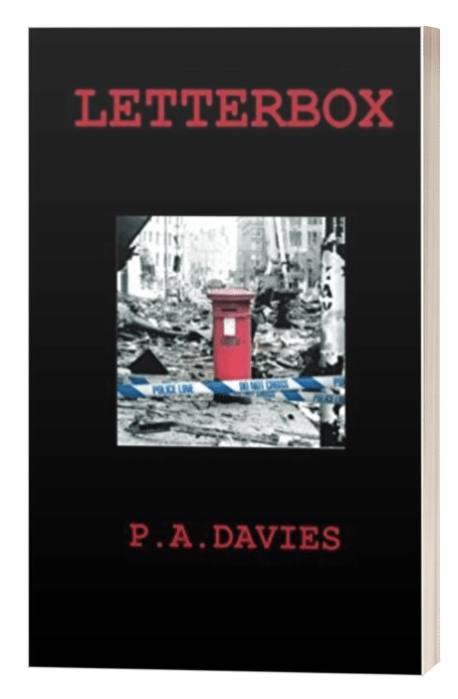 Letterbox - P.A. Davies - 3D book cover