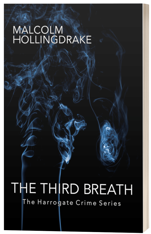 The Third Breath - Malcolm Hollingdrake - 3D Book Cover