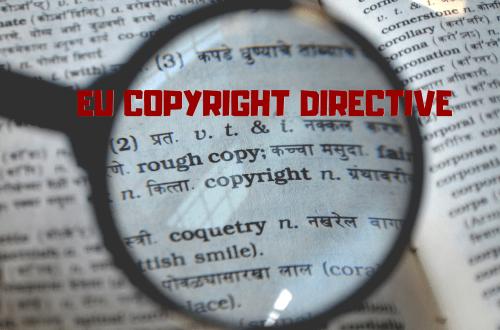 Blog Post Image EU Copyright Directive