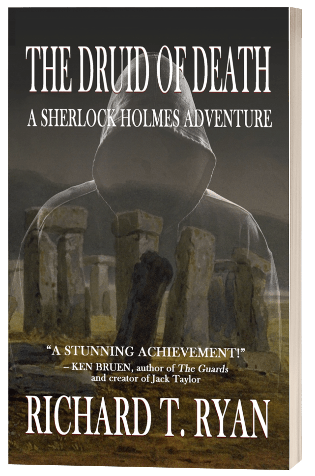The Druid of Death - Richard T. Ryan - 3D Book Cover