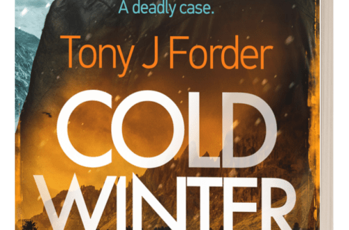 Cold Winter Sun - Tony J Forder - 3D book cover