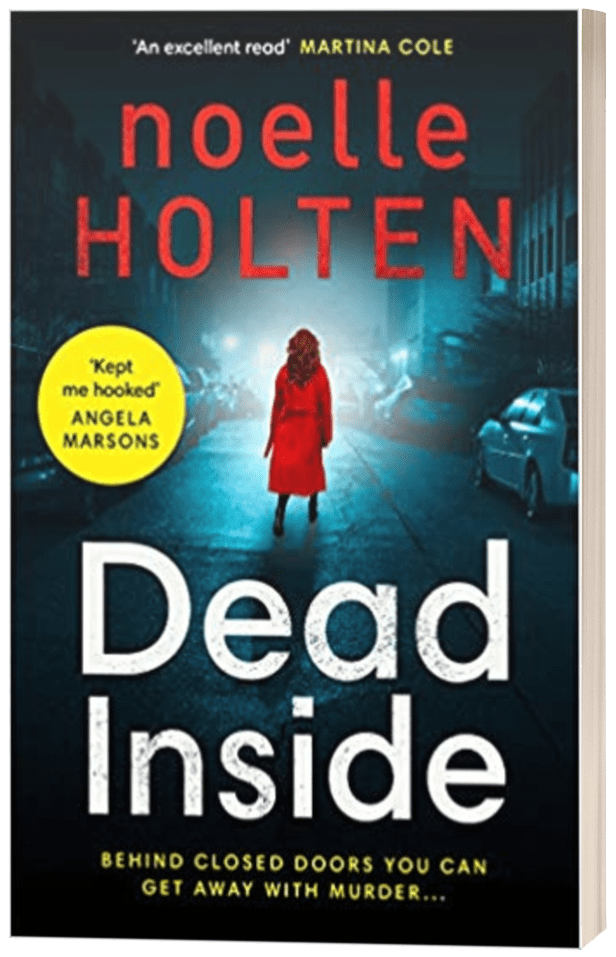 Dead Inside - Noelle Holten - 3D book cover