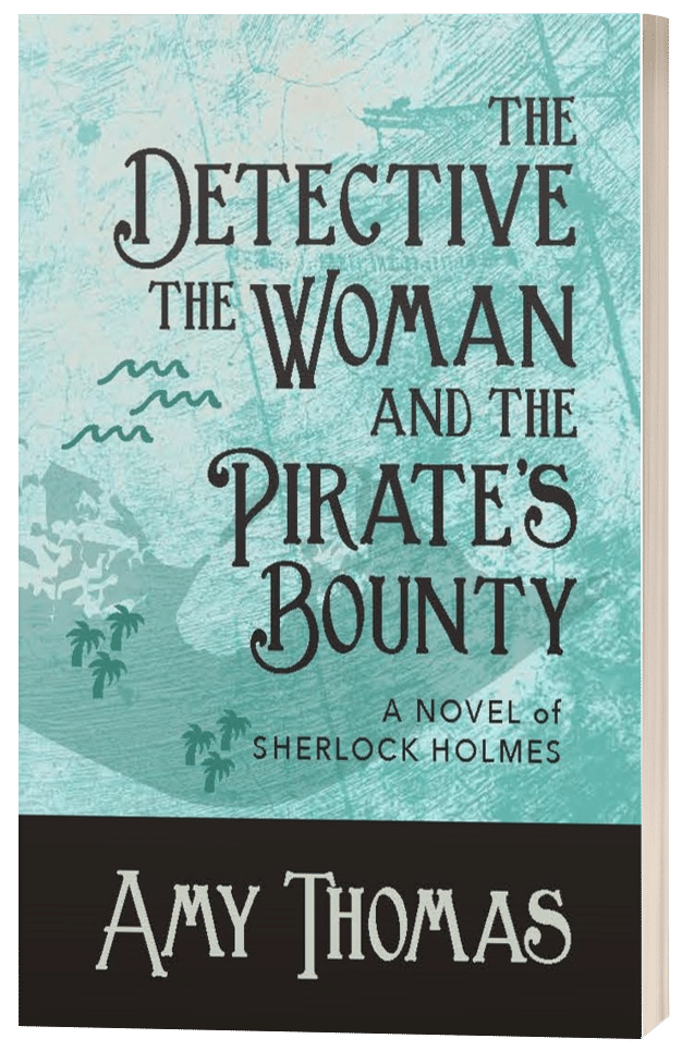 The Detective, The Woman and The Pirate's Bounty - Amy Thomas - 3D Book Cover