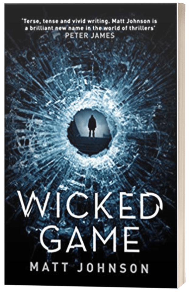 Wicked Game - Matt Johnson - 3D book cover