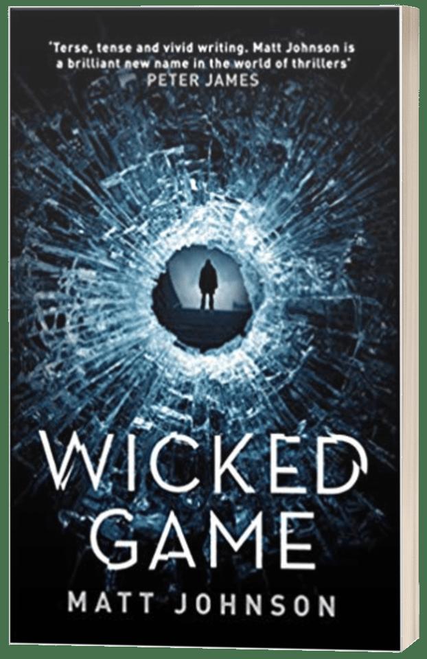 Wicked Game - Matt Johnson - 3D book cover