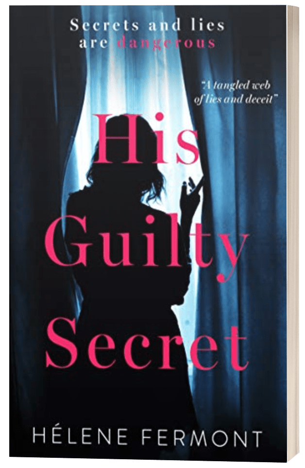 His Guilty Secret - Hélene Fermont - 3D book cover