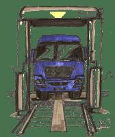 Impianti di lavaggio per veicoli industriali