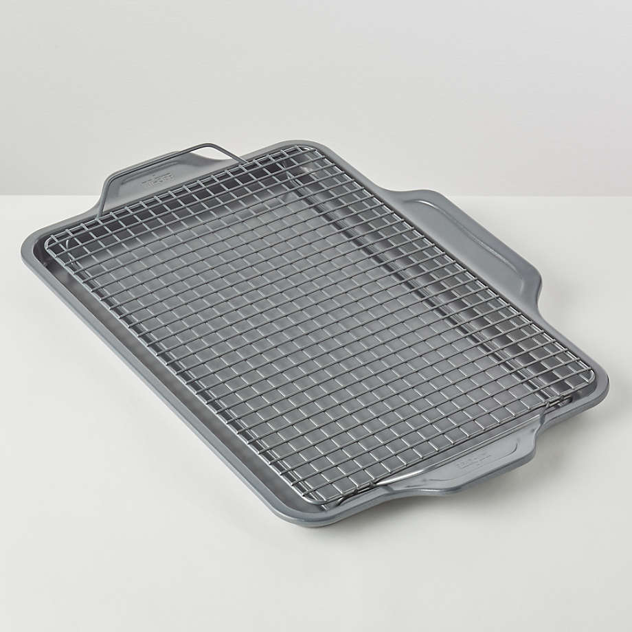 all clad pro release half sheet with cooling and baking rack