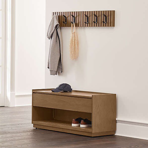 coat racks and wall hooks crate and