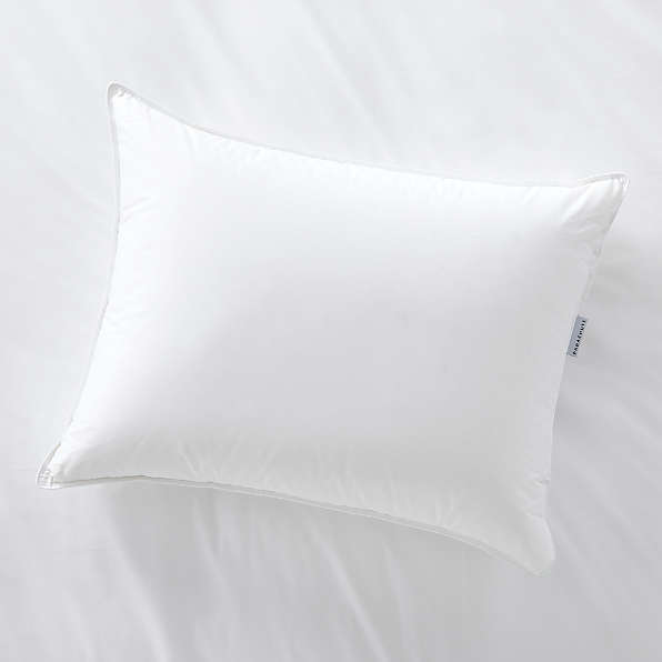 bedroom pillows crate and barrel