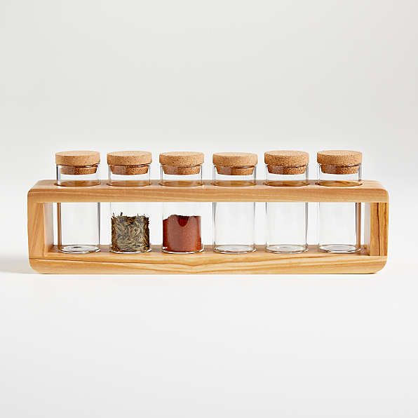 spice racks crate and barrel